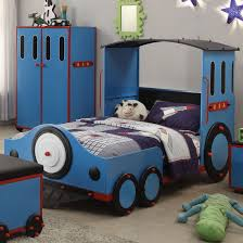 Zoomie Kids Nala Train Twin Train Bed Wayfair