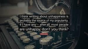 philip larkin e i think writing
