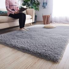 Shop Modern Shag Rugs Floor Kids Playing Mat 4 Feet By 5 3 Feet Gray Big Overstock 30314005