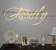 Family Branches Wall Decals Trading Phrases