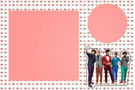 Tarjetas De Invitacion A Cumpleanos One Direction Para Mandar Por