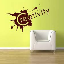 Art Wall Vinyl Sticker Bedroom Decal Words Sign Quote Creativity Blot Diy Wall Stickers Quality Wallpaper Interior Decor La786 Interior Decor Stickers Bedroomwall Vinyl Aliexpress