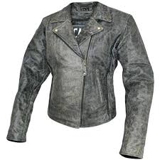 motorcycle distressed leather jacket