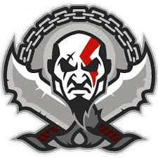 God Of War Kratos Sports Logo Sticker