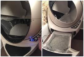 introducing the robot litter box that