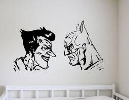 Batman And Joker Wall Art Decal Wall Decal Wall Art