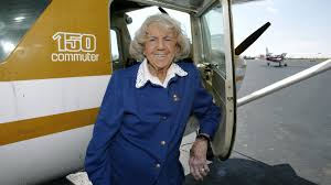 Mama Bird' Evelyn Johnson Dies At 102; Logged 7 Years Of Flight Time : The  Two-Way : NPR
