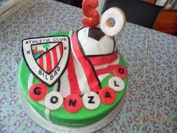 Tarta Athletic Club De Bilbao Con Imagenes Tartas Cumpleanos