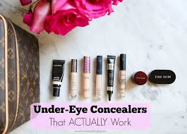 battle of under eye concealers and how