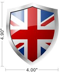 Purchase United Kingdom Great Britain England Uk Flag Decal Car Bumper Sign Sticker A133 Motorcycle In Flushing New York United States For Us 4 99