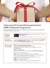 hsbc s rewards programme