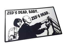 Zed S Dead Baby 5 X3 Decal Pulp Fiction Decal Reflective Or Standard Empire Tactical Usa