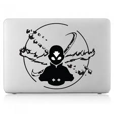 Avatar The Last Airbender Aang Laptop Macbook Vinyl Decal Sticker