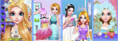 princess beauty salon birthday party