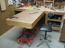 embly table hydraulic lift by