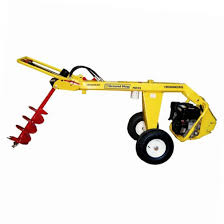 Post Hole Auger 1 Man Towable Rentx Tools And Equipment
