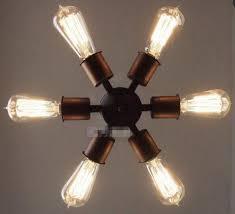 vintage industrial diy ceiling lamp