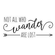 Custom Rv Decal Style 11005 Not All Who Wander Are Lost Popup Pop Up Camper Fifth Wheel Rv Decals Lettering Camper