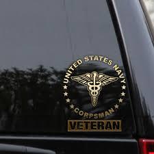 Us Navy Corpsman Military Vinyl Decal Sticker Window Wall Car