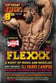 flex powered by crunch w dj fabio