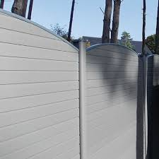 Graphite Eco Fencing Posts Maintenance Free Fencing Recycled Upvc Fencing