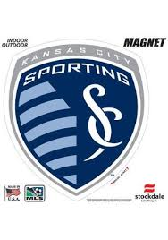 Sporting Kansas City 12x12 Primary Logo Car Accessory Car Magnet Sporting Kansas City Kansas City Soccer Logo