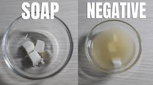 pregnancy test with soap negative