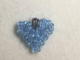 swarovski crystal puffed heart 2016