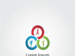 fitness and gym icon gymnastic logo