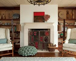 how to decorate a fireplace for the