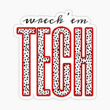 Texas Tech Stickers Redbubble