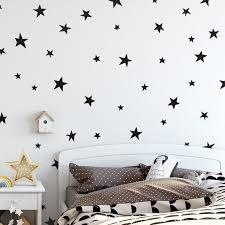 Baby Nursery Bedroom Stars Wall Sticker For Kids Room Home Decoration Children Wall Decals Art Kids Wall Stickers Wallpaper Wall Stickers Aliexpress