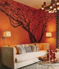Japanese Maple Tree Wall Decal Tree Wall Decals Orange Decor Tree Wall Decal Decor