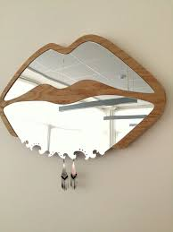 Lips Shaped Wall Mirror 3d Mirror Wall Sticker Wall Art Decor Personalized Gift For Chic Home Magical Planner Day3dream Wooden Wall Decor Princ