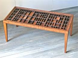 cherry wood coffee table