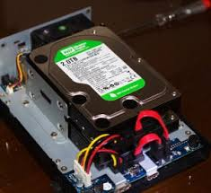 setup a network attached storage