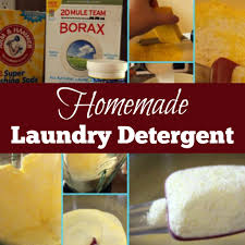 homemade laundry detergent diy