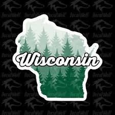 Buy 2 Get 1 Free Wisconsin Die Cut Sticker Car Decal Vinyl 3 X 3 Wi Dells Ebay