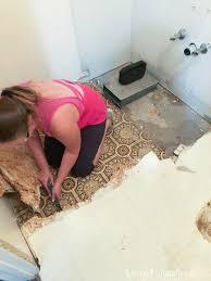 how to easily remove linoleum