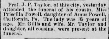 Mary Priscilla Powell Death Notice - Newspapers.com