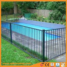 China Powder Coated Aluminum Pool Safety Fence China Fence And Fencing Price