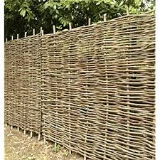 Papillon Premium Hazel Hurdle Woven Wattle Garden Fence Panel 1 8m X 0 9m 6ft X 3ft With 1 Year Warranty Amazon Co Uk Diy Tools