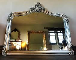 french over mantle arch fireplace wall