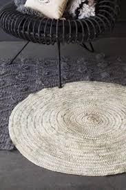 original moroccan round hand woven jute