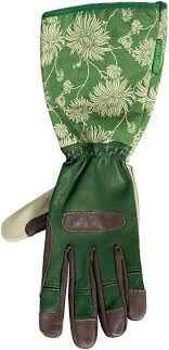 laura ashley womens leather gauntlet