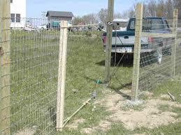 Alpaca Fence Construction