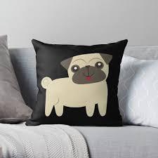 Pug Kids Room Pillows Cushions Redbubble