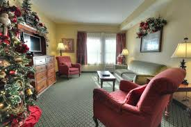 two room suite the inn at christmas