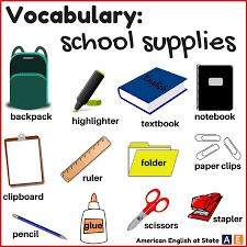 English for Kids - vocabulary School - Learn Perfect English Grammar