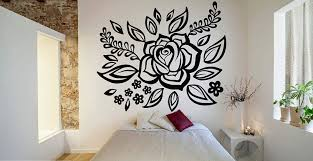 Amazon Com Wall Decals Decor Mandala Decal Mandala Sticker Boho Wall Art Flower Vinyl Sticker Made In The Usa Vinyl Decal Indian Wall Art Bedroom Decor Js96 Home Kitchen
